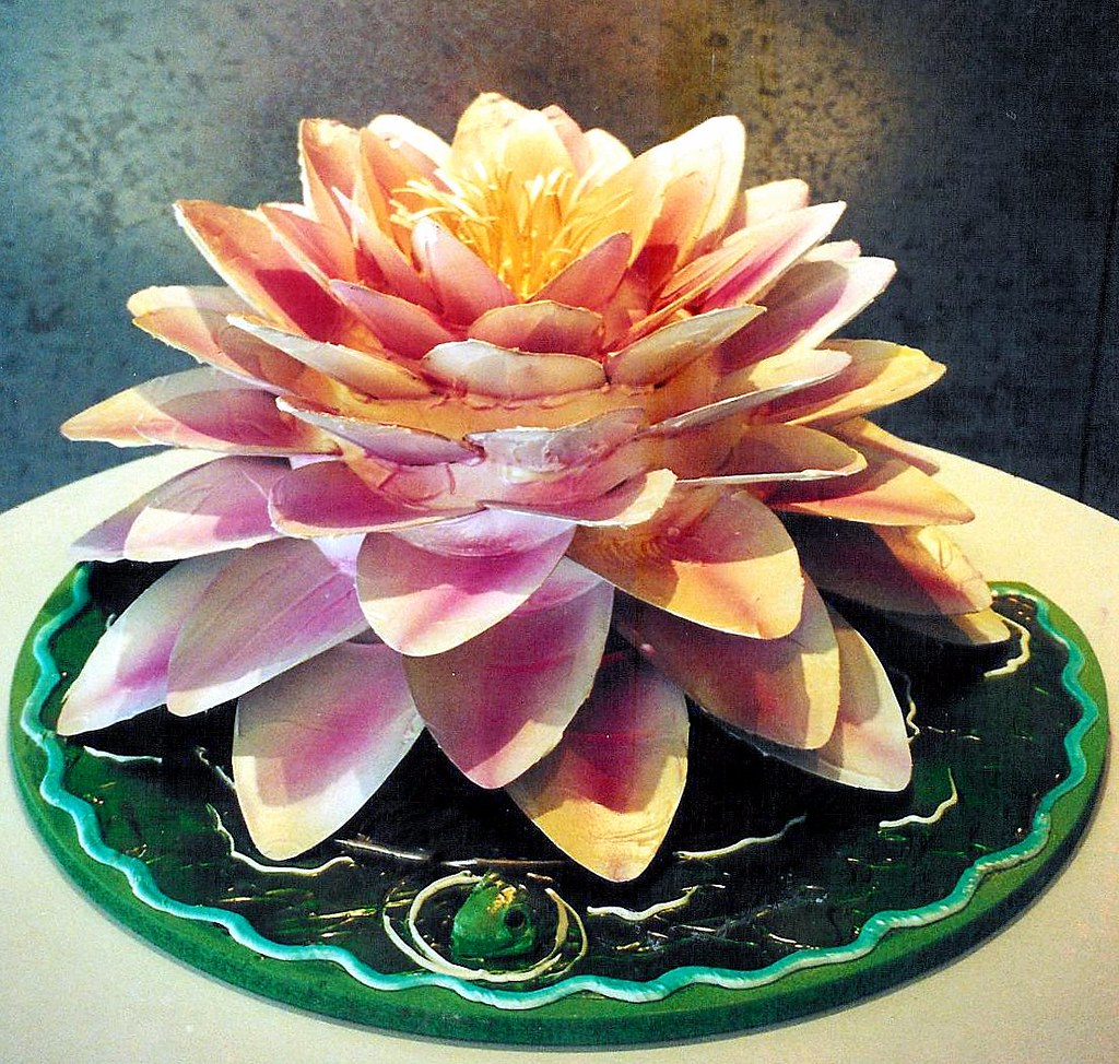 Lotus Flower Cake With White Chocolate Petals Can Be For Flickr