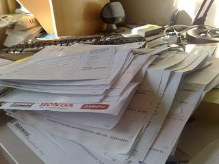 4 months of paperwork to sort | by lejoe