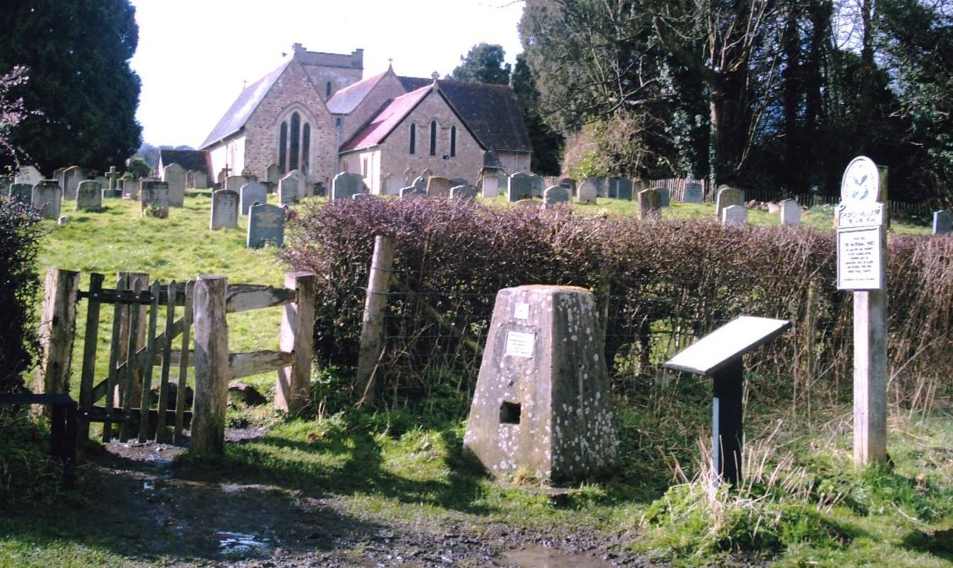 Alton Circular walk Selbourne church collection box. D.Allen. VIVITAR 5199mp
