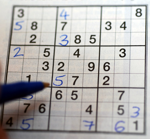 Playing Sudoku | by incurable_hippie
