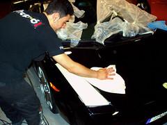 Pulido coche. Lamborghini Gallardo