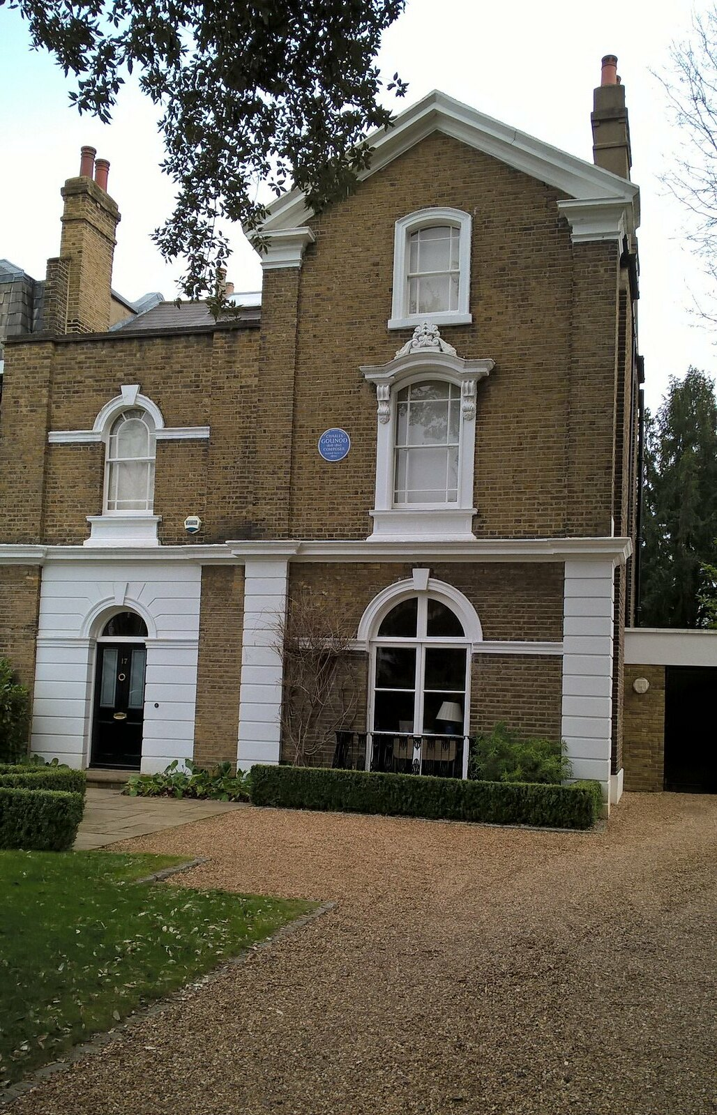 Gounod once lived here. Blackheath Composer of Faust/Orpheus in the Underground ?