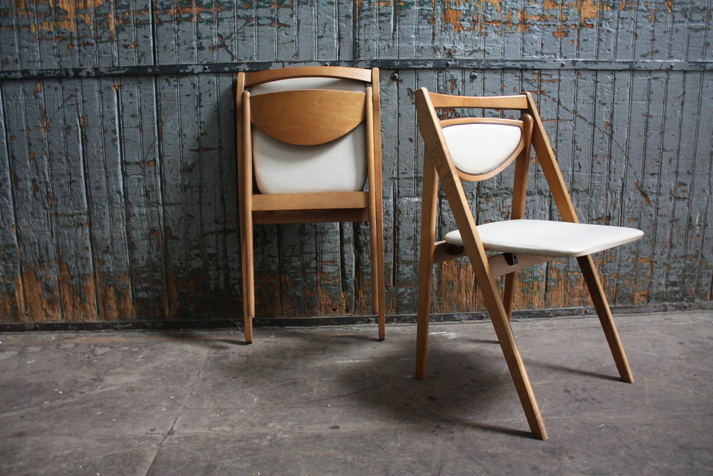 Stakmore Folding Chairs Vintage.Vintage Mid Century Stakmore Folding Chairs Changes Your O