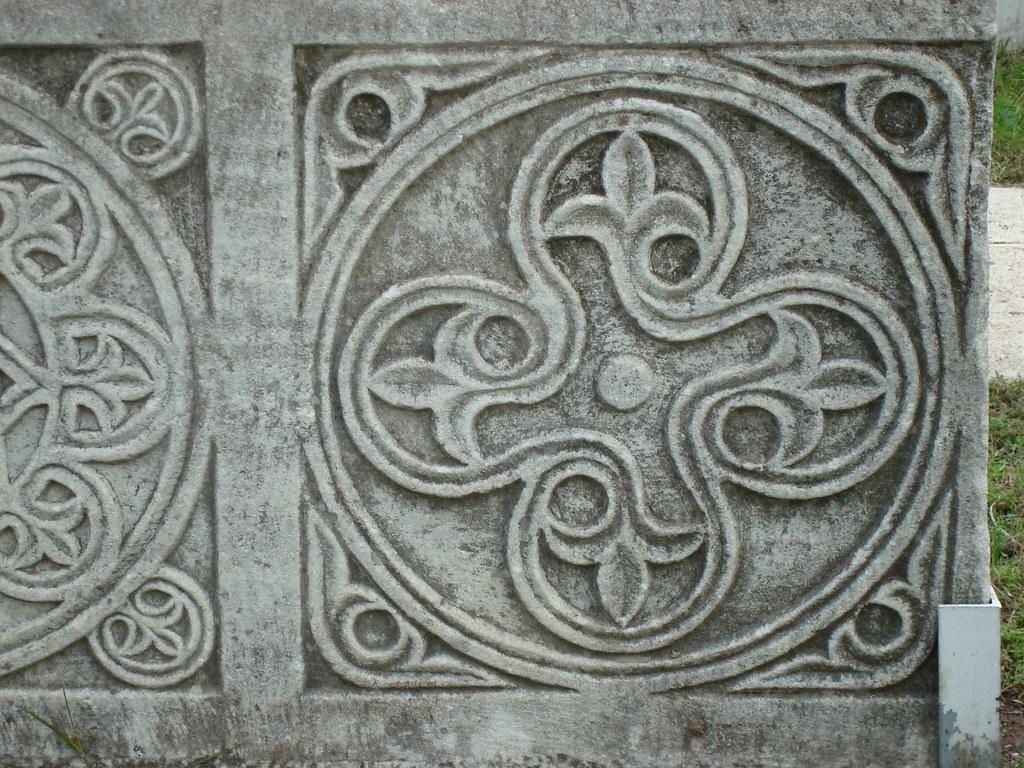 Byzantine Marble Altar I - Detail