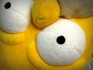 Homer's extreme close-up
