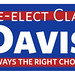 Re-elect Clay Davis