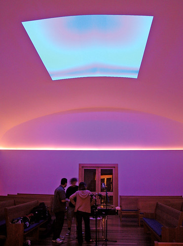 jamesturrell liveoak meetinghouse skyspace namelesssound liveoakfriendsmeetinghouse