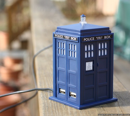 TARDIS USB Hub | by Eclipse Pics (∆ncient)