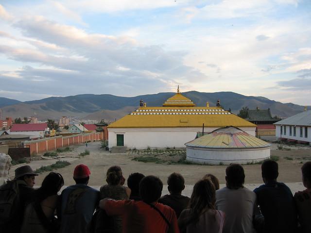 Con el equipo del transiberiano 2005 en Ulan Bator (Mongolia)