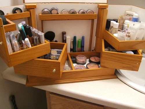 My new makeup organizer!