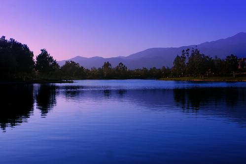 california ranch santa blue trees sunset mountains 20d water canon view margarita tulk