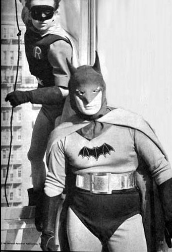 Batman and Robin (1949)   Robert Lowery (Batman) and Johnny