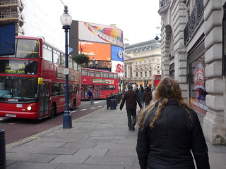 Regent St. to Picadilly Circus.