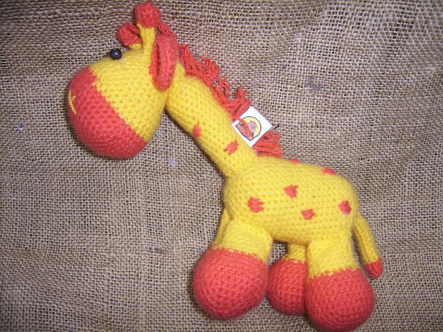 Giraffe amigurumi for babies by Storyland Amis.Jirafa para bebés ... | 480x640