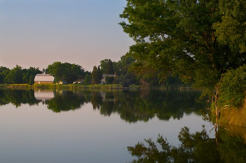 trees sunset reflection water grass saint barn bay md nikon raw farm maryland chesapeake michaels iphotooriginal d300s yahoo:yourpictures=elements yahoo:yourpictures=landscape
