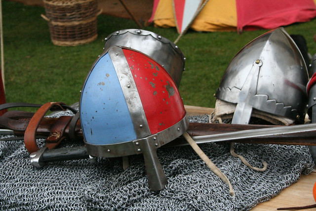 medieval helments