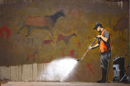 Banksy Graffiti Cleaning Squad