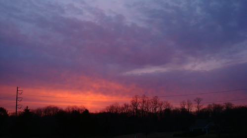 pink red sky orange sun beautiful silhouette clouds sunrise march newjersey colorful pretty purple widescreen nj monroe 2008 169 middlesex shx dublinninja shawnhikichi