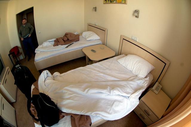 Places I have slept: Odesa, Ukraine