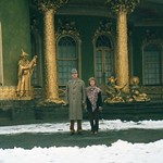 Clifford & Ann Patricia Griffiths at 'Sans Souci' Potsdam. Christmas 1990