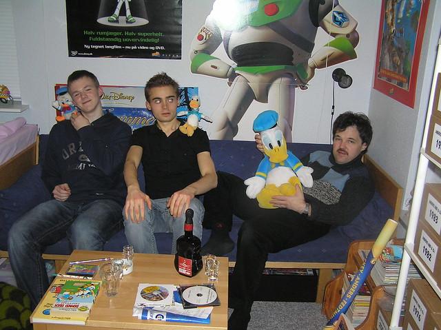 3 Donalds and 3 donaldists