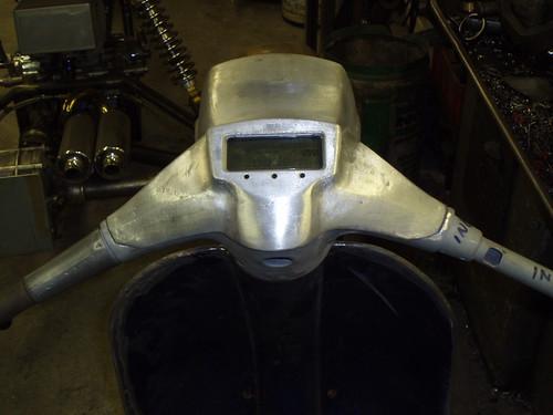 Cutdown Digital Speedo   Rev Counter   Fuel Gauge  Temp Senso