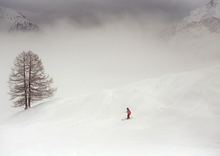 Skier at Courmayeur | by Colin_K