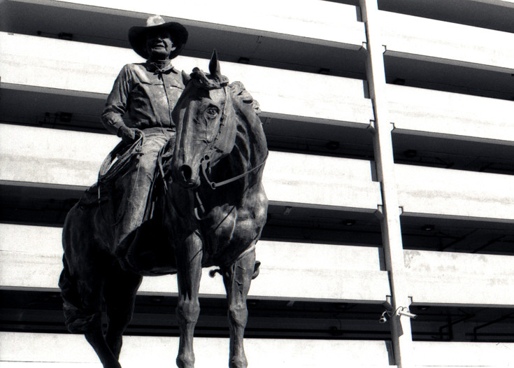 Benny Binion Las Vegas Nv Statue Of The Founder Of The Flickr