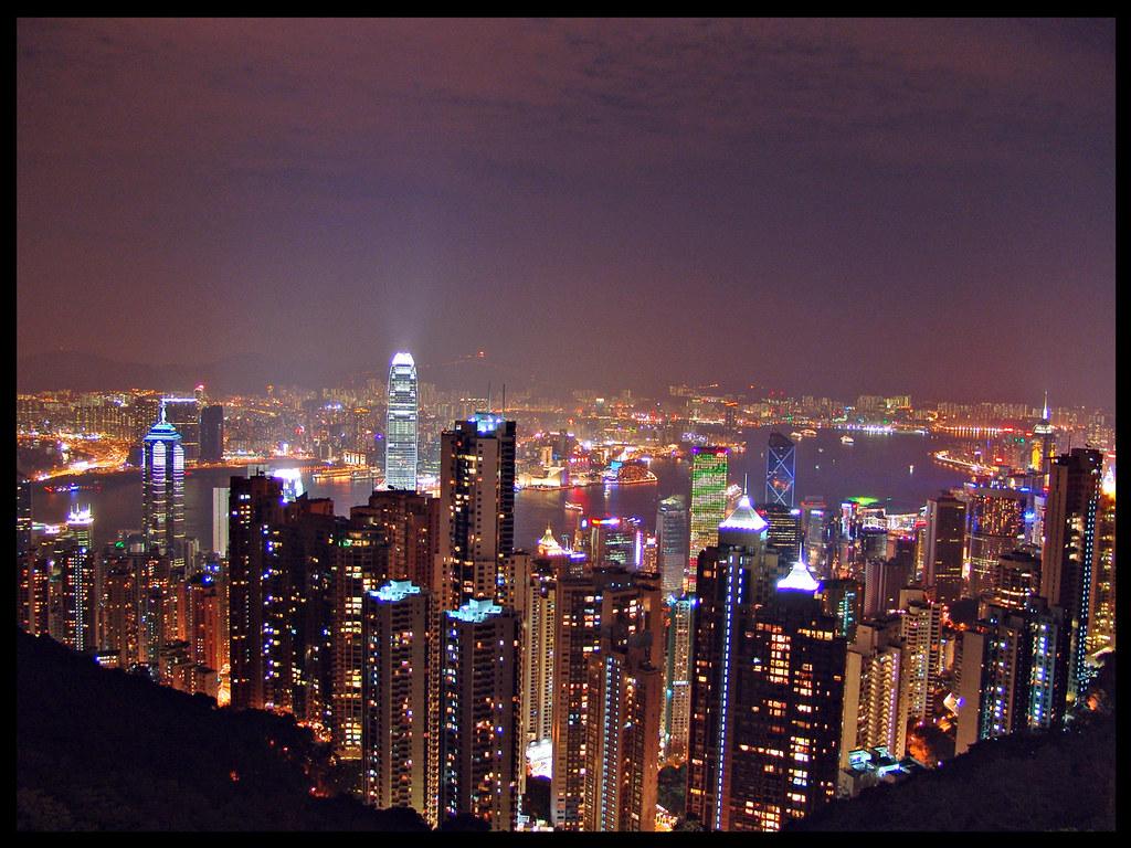 Hong-Kong from Victoria Peak
