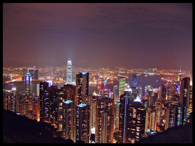 Hong-Kong from Victoria Peak