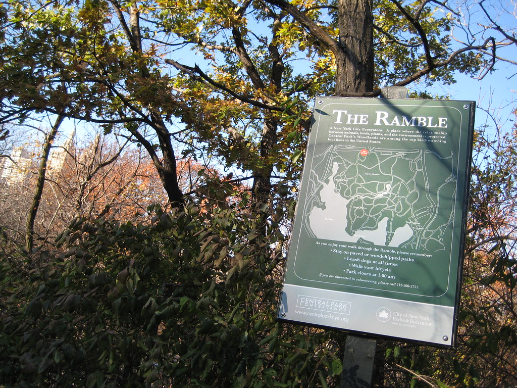 The Ramble, Central Park