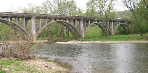 bridges missouri jamesriver galena