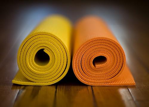 Yoga mats | by Richard-