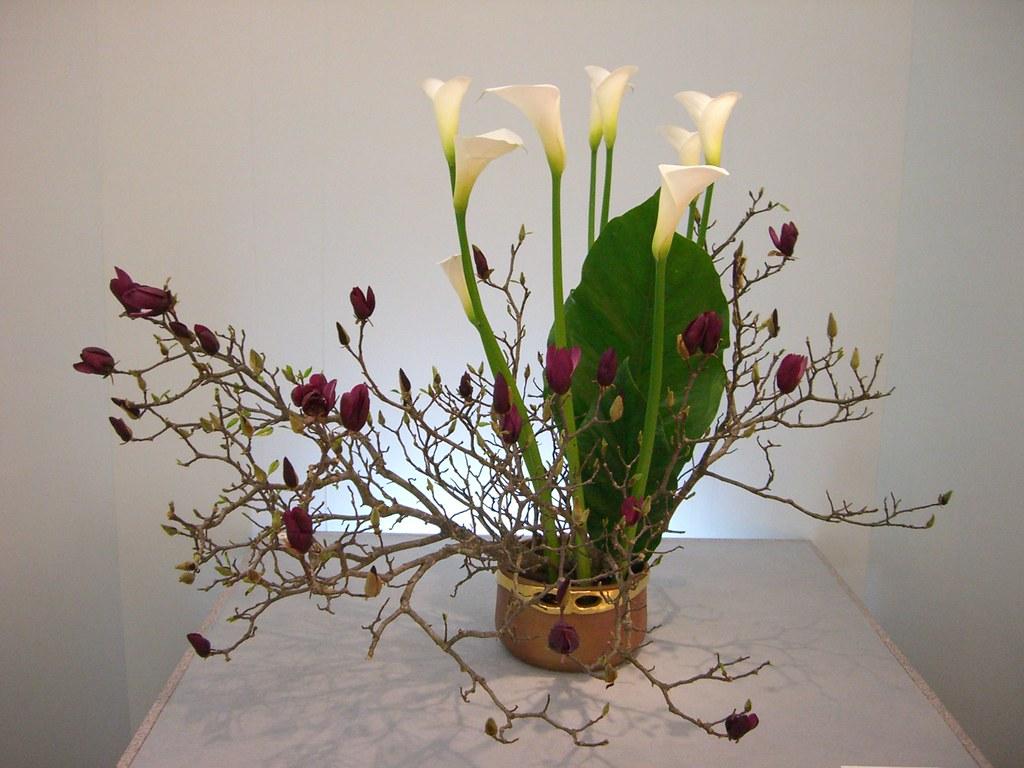 Japanese Flower Arrangement 3 Ikebana いけばな Nullumayulife Flickr