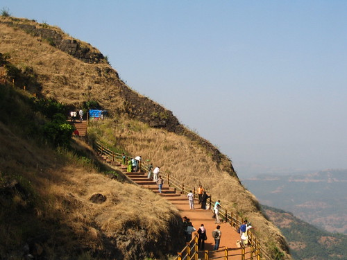 Vishalgad Stairs