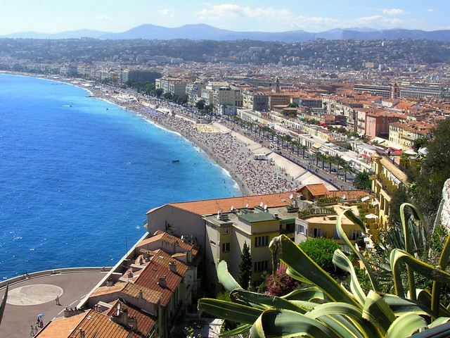 City of Nice on the French Riviera