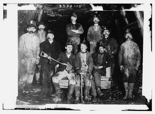 Coal miners  (LOC) | by The Library of Congress
