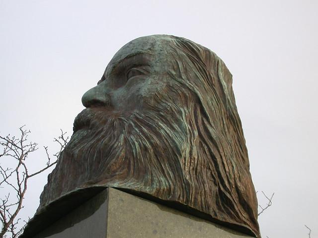 Bizarre Planet of the Apes/Zardoz Walt Whitman head