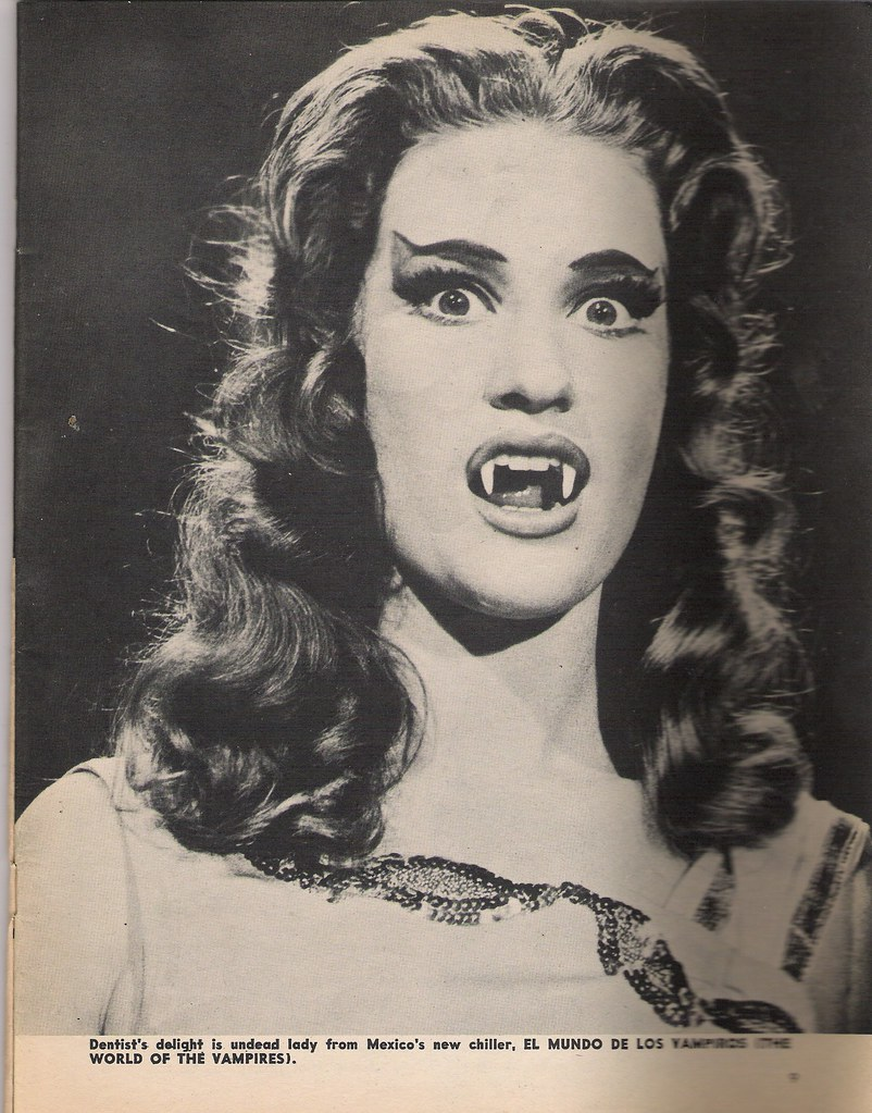 Vampire chick | from an old Famous Monsters mag-the film   a… | Flickr