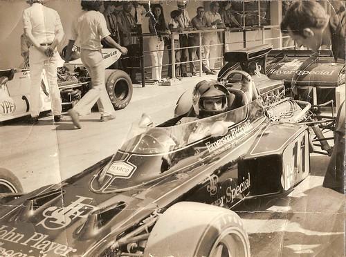 Emerson Fittipaldi (Lotus-Ford) '72