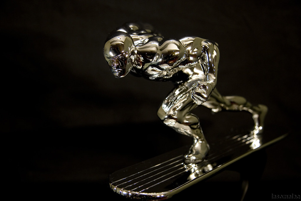 Chrome Silver Surfer Action   insomniac 2 0   Flickr