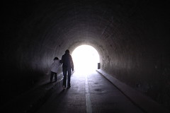 London Zoo tunnel