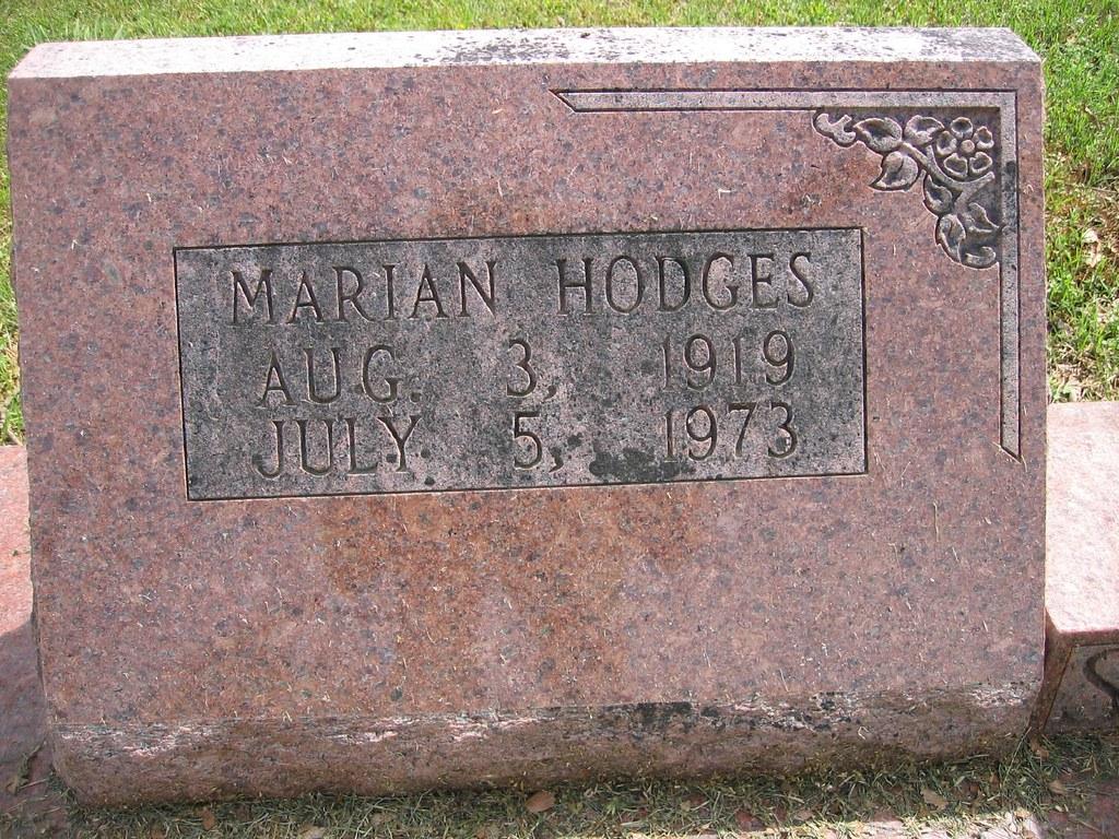 Marian Hodges