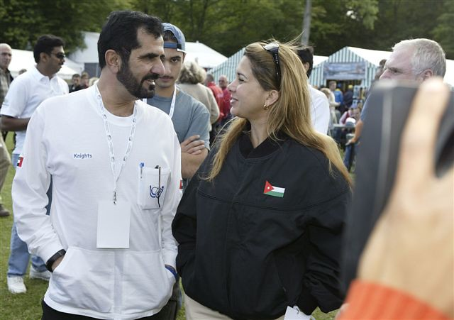 Sheikh Mohammed Al Maktoum and his wife princess Haya of J… | Flickr