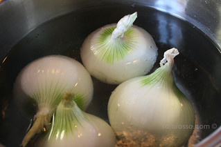 White Onions ready to be stuffed | by MsAdventuresinItaly