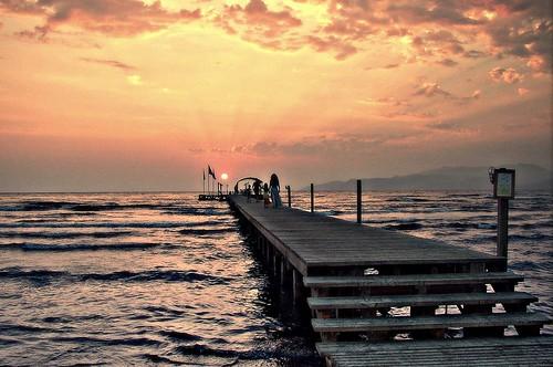 Spectacular Turkish sunset