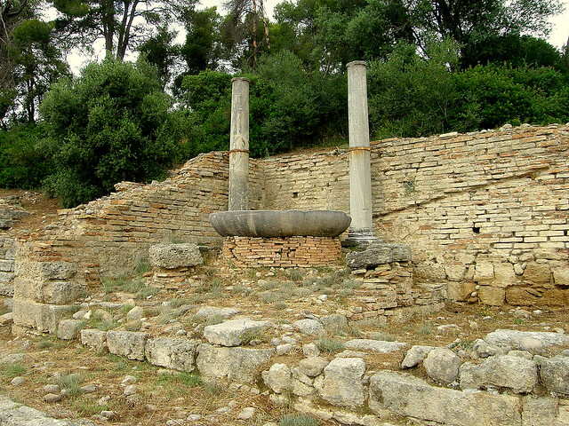 Olympus In Greece Where The Olympic Torch Has Started Its Journey Since The 1936 Berlin Olympics