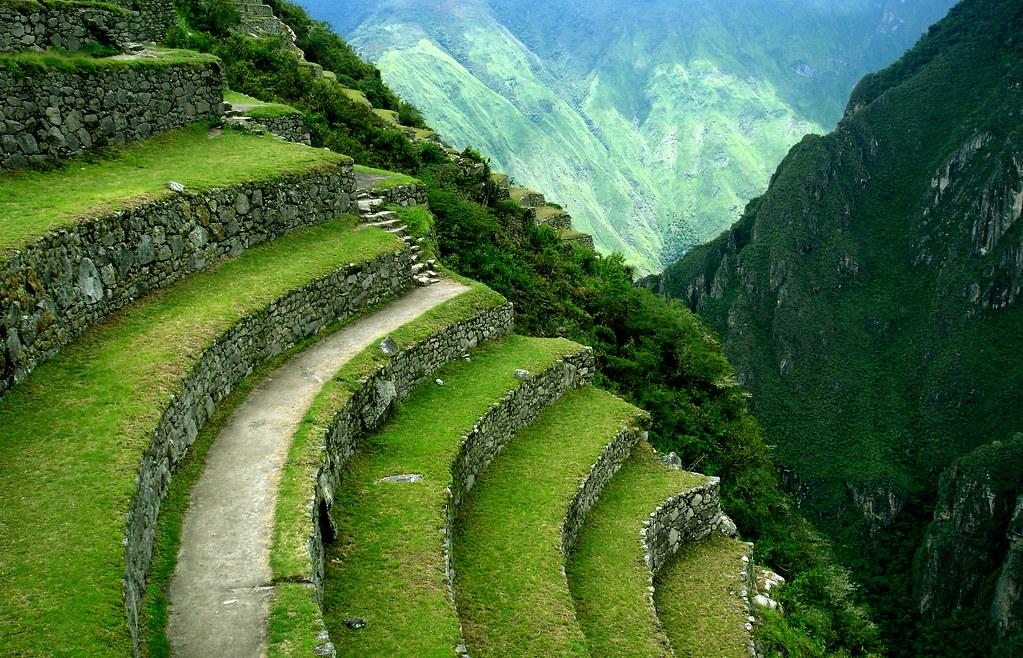 Terrazas Inca Machu Picchu Terrazas De Cultivo En La Cult