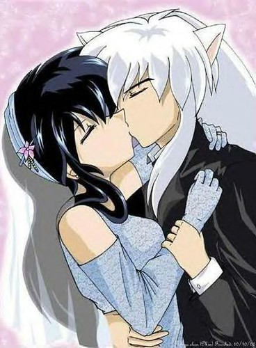Inuyasha And Kagome S Love Screen This Image Should Have B