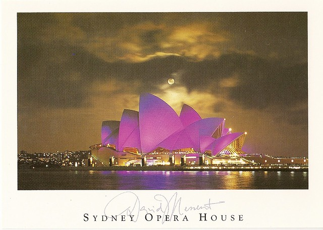 Sydney Opera House Moonrise